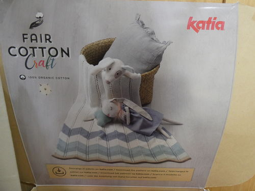 FAIR COTTON CRAFT - KATIA YARNS - 200GR